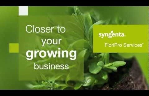 Syngenta FloriPro Services.  Closer to you.